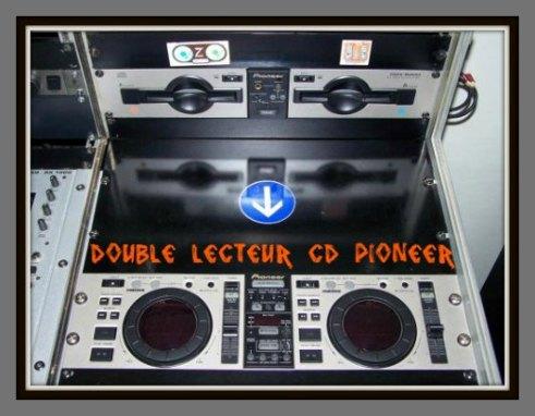 DOUBLE LECTEUR CD PIONEER